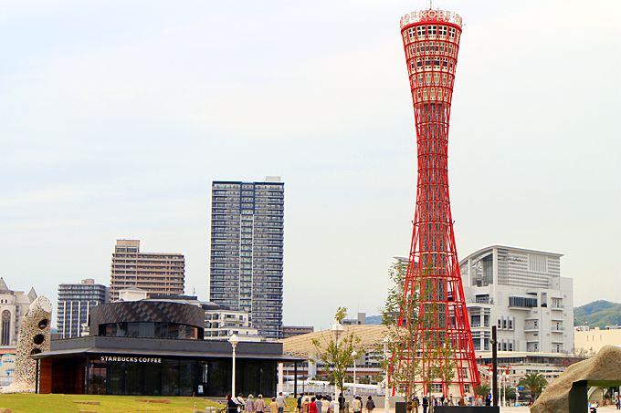 西日本最大のスタバもメリケンパークにオープン