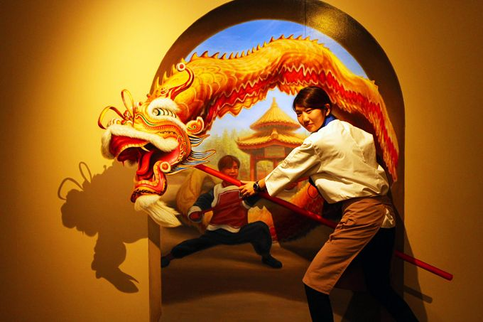 「神戸トリックアート不思議な領事館」はデートでも子連れでも!