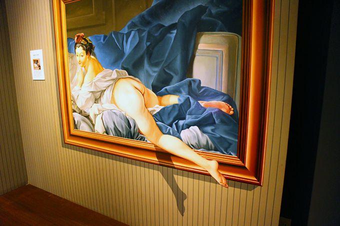 何度見ても不思議なトリックアートの世界