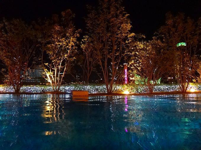 最高級マシンを設置したジムや神戸ポートタワーの見える混浴温水プールも!