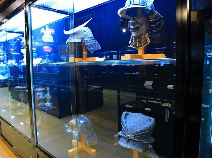 かやぶきの郷「時代もの展示処」には珍しいコレクションが