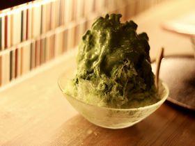 抹茶専門店のふわとろかき氷!名古屋・抹茶カフェ「茶々助」