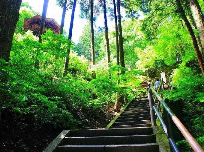日本最古の禅宗様建築 安楽寺の八角三重塔