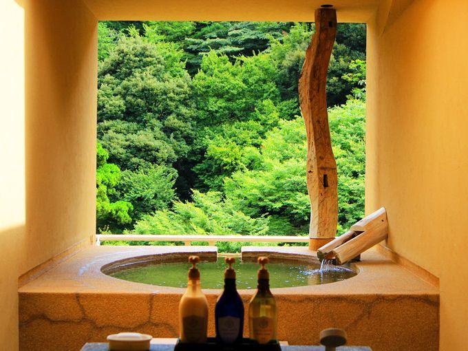 「箱根水明荘」は箱根湯本駅から2分のビジュアル系温泉!