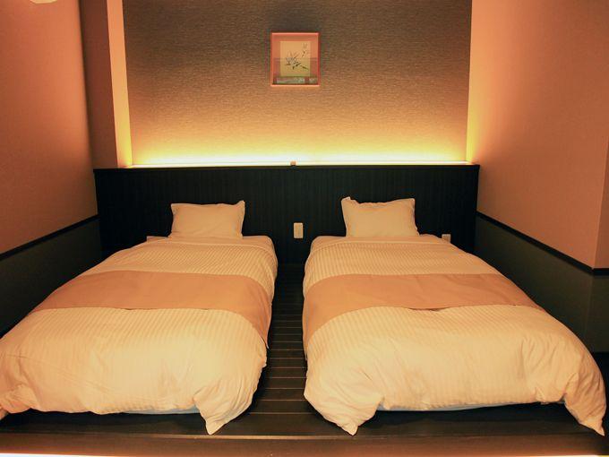 箱根水明荘の露天風呂付き客室はプライベート感満載