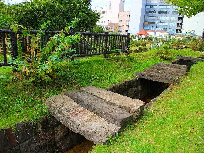 東京水と本郷給水所公苑で一休み
