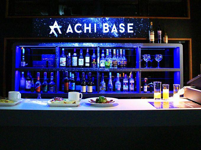 長野県阿智村「ACHI BASE」星空バーの卓上で星が生まれる