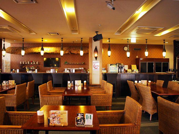 和洋中とエスニックのランチブッフェが一番人気!