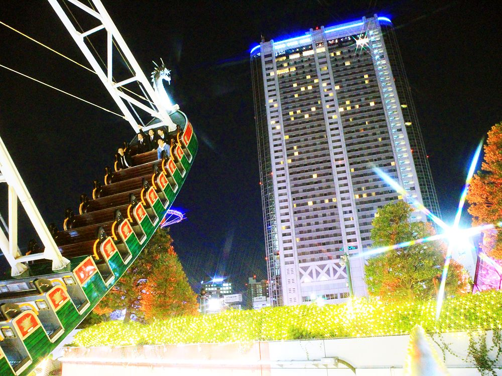 東京ドームシティ ウィンターイルミネーション—子供と行くならココ!