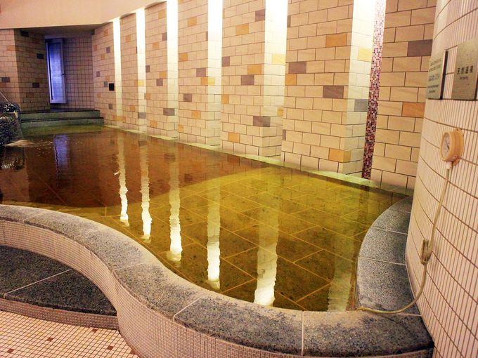 スパ ラクーアの天然温泉でキレイになる