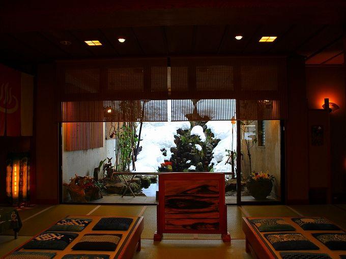 松之山温泉は雪深い山里のいで湯