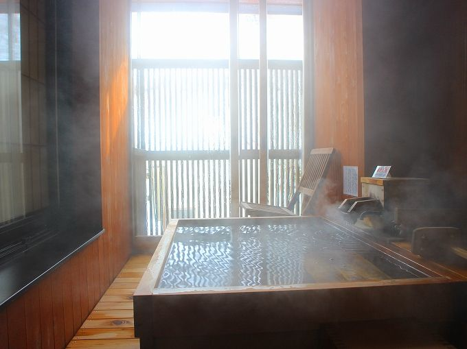 ひなの宿 ちとせの特別室は露天風呂付き