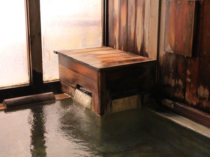 白骨温泉 泡の湯の神髄は内湯の透明な温泉に
