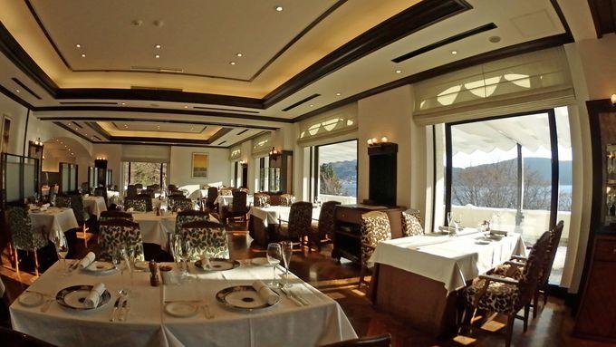 美食と温泉も存分に楽しめる「山のホテル」