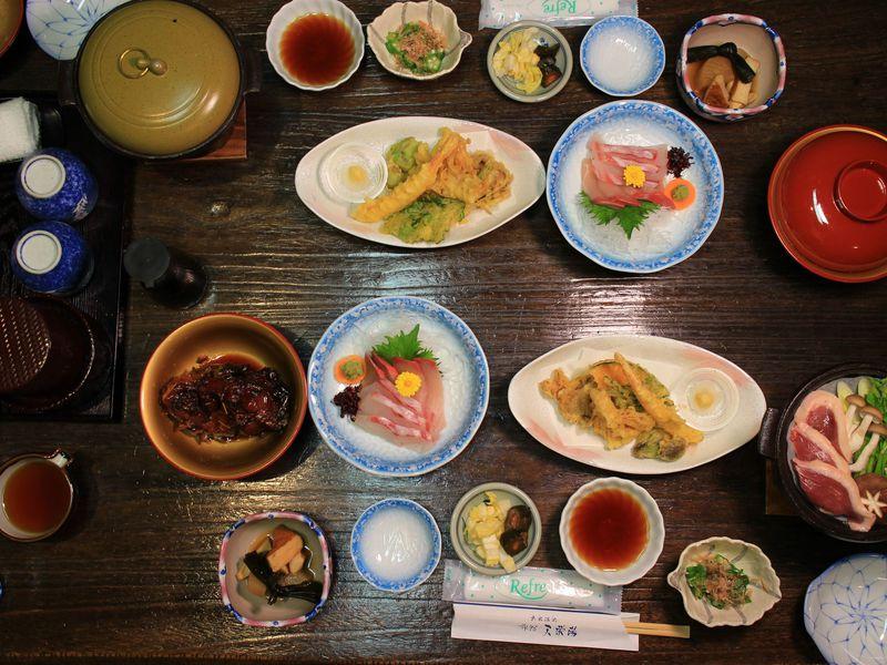 鯉料理が初めての方にもオススメの天栄温泉 天栄湯