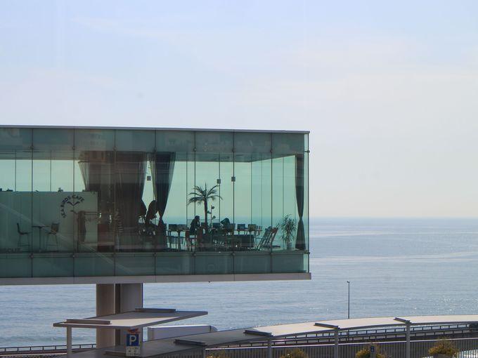 日立駅の絶景天空カフェ「シーバーズカフェ」