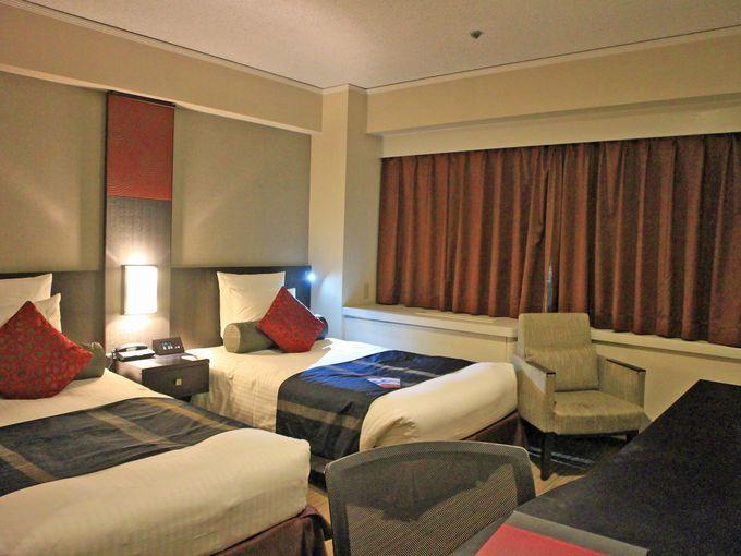 ANAクラウンプラザホテル福岡の快適な客室