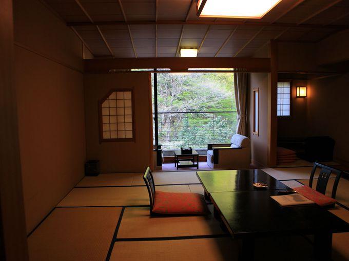小川温泉元湯「ホテルおがわ」には海と山の幸が!
