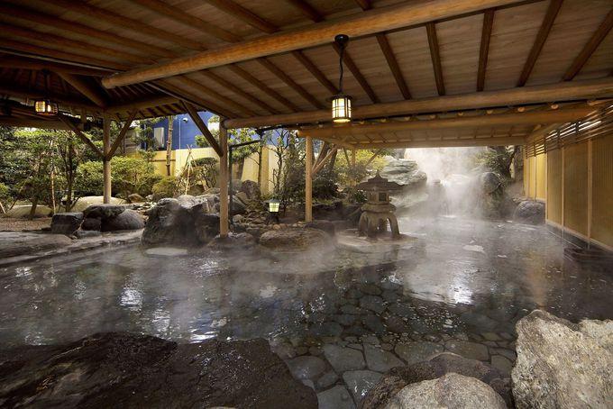 「清風荘」のお風呂はとにかく広い