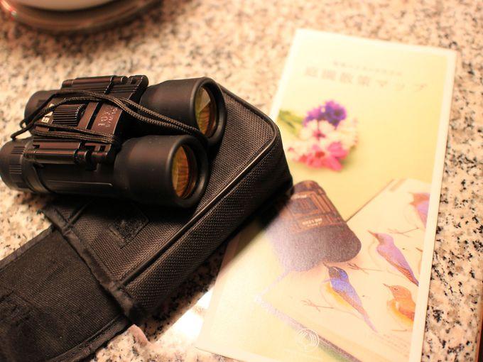 双眼鏡を手に散策したい箱根ハイランドホテル