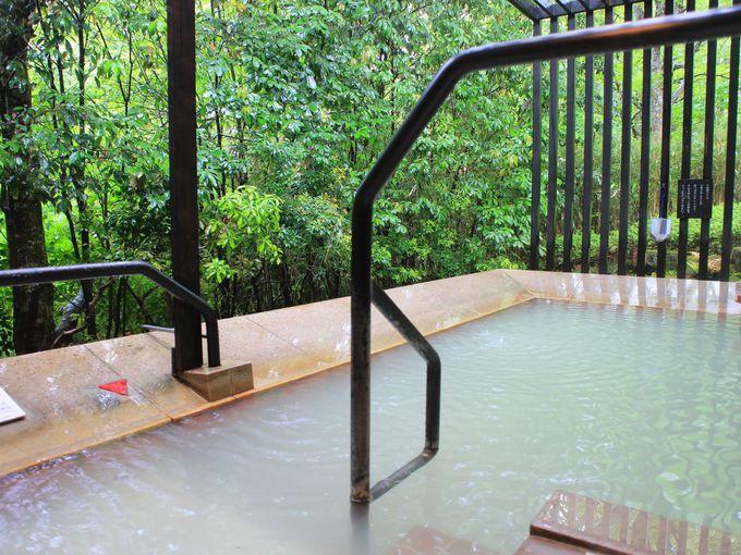 箱根ハイランドホテルの温泉は大涌谷の白濁湯