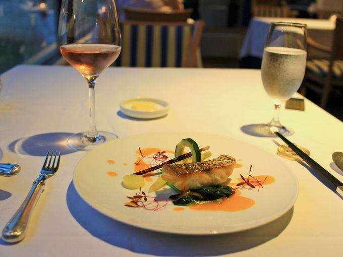 ガーデンブロッシュを使った調理が魅力のレストラン「ラ・フォーレ」