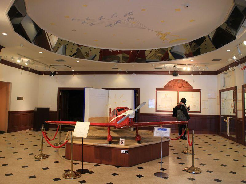 午前中のプラン1:星の王子さまミュージアム