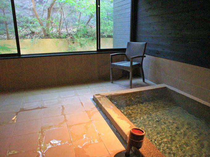 貸切り風呂や陶板浴など「みどりの宿 萬松閣」の楽しみ方いろいろ