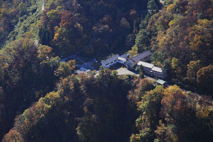 岩間温泉 山崎旅館へのアクセスは難路!