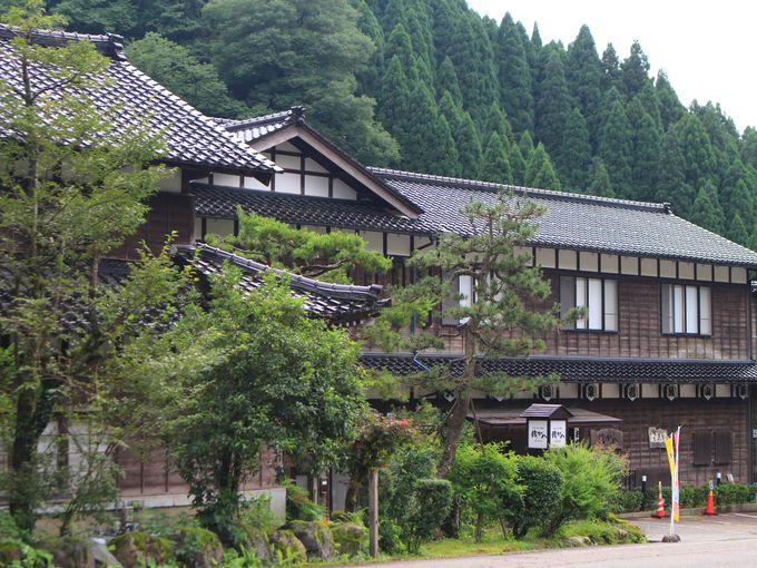 「銭がめ」は加賀のお殿様も休んだ庄屋屋敷