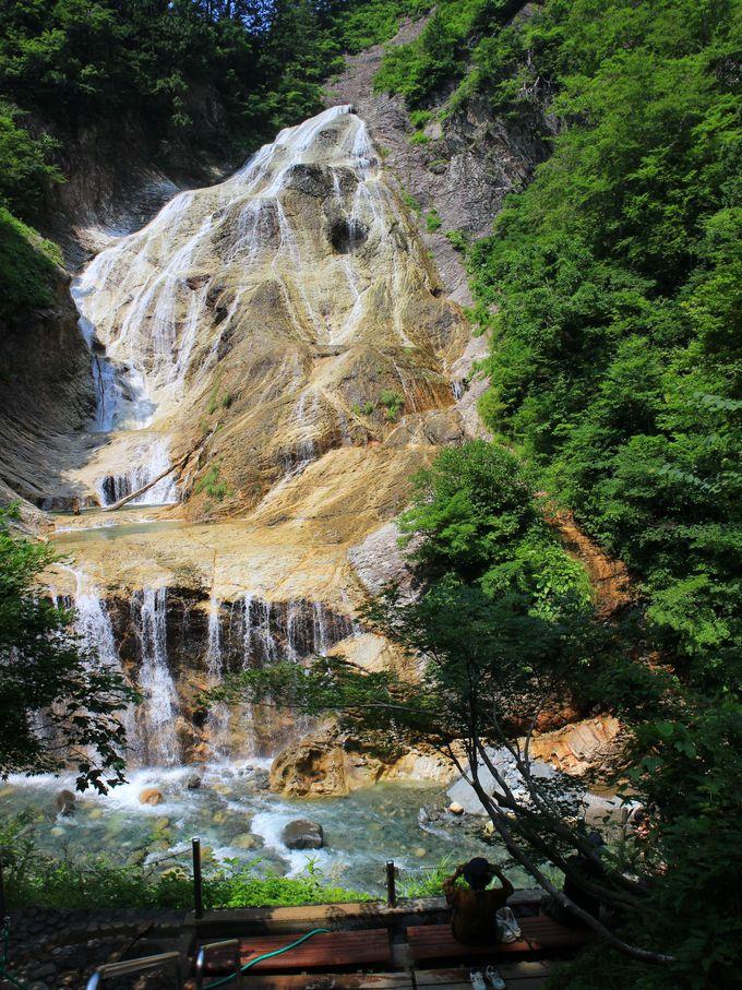 親谷の湯の露天風呂