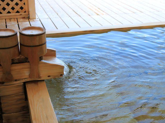 源泉 茶目湯殿は二人で絶景が楽しめる