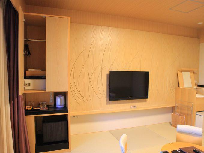 小田急 箱根レイクホテルの客室は機能的でシンプル