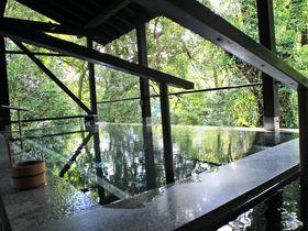 「箱根湯寮」3分で箱根湯本から行ける、森の日帰り温泉が素敵