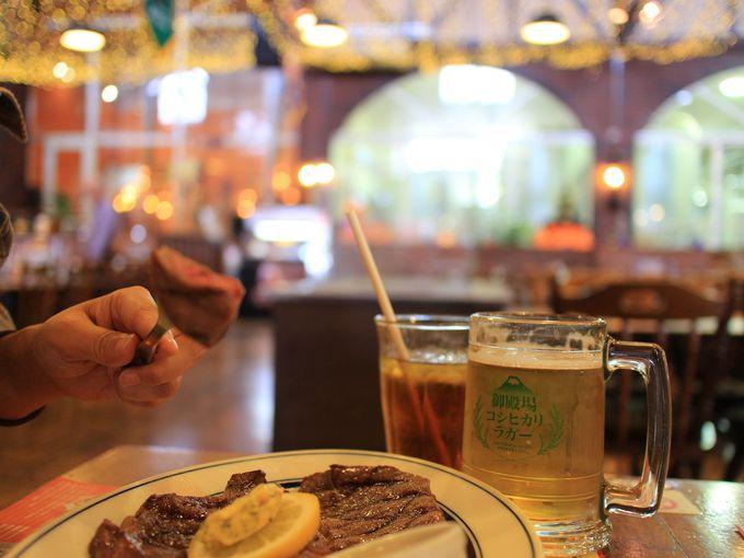 12時30分〜:御殿場高原ビールのレストランでランチ