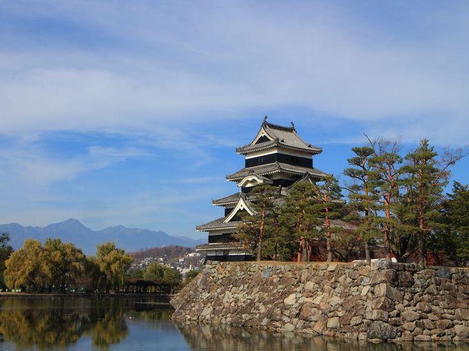 1日目の午後:松本城を天守閣まで登れ!