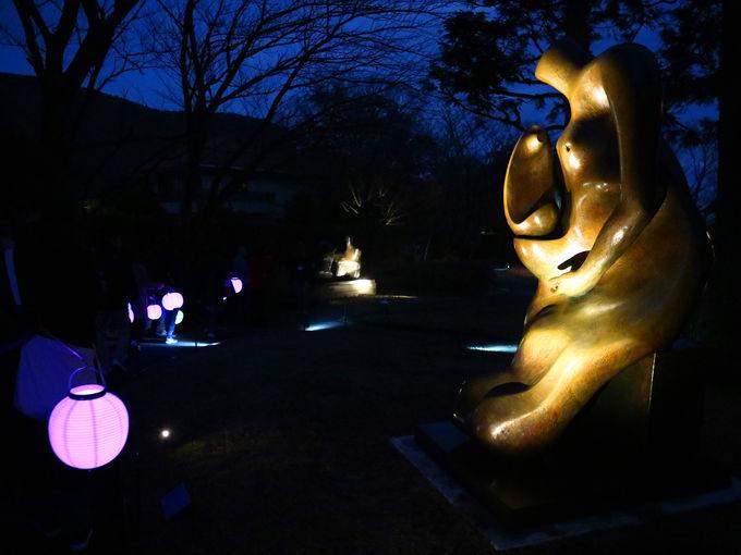 彫刻の森美術館ならではの箱根ナイトミュージアム