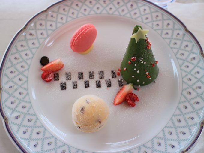 サロン・ド・テ ロザージュのクリスマス限定スイーツ