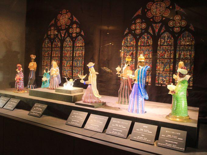 箱根ガラスの森美術館のクリスマス・ツリー