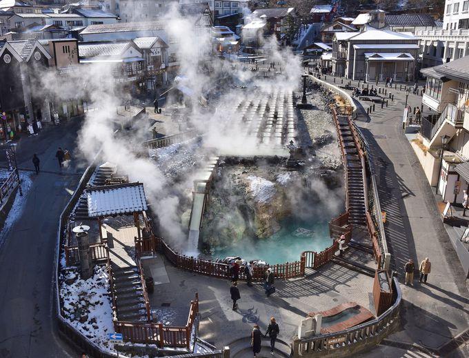 冬こそ草津温泉へ