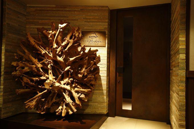 山のホテル一番の絶景ルームはスパで