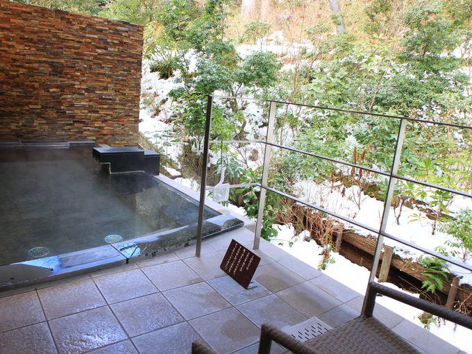 山のホテルの温泉とスパ モンターニュのショップも
