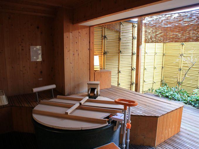 「ホテル玉之湯」のお部屋には露天風呂付きやバリアフリーも