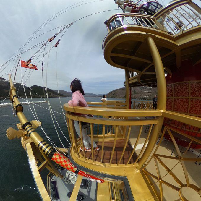 新型海賊船「クイーン芦ノ湖」のこだわりとは