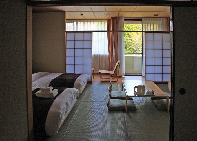 美山楓林のお部屋とアメニティをチェック!