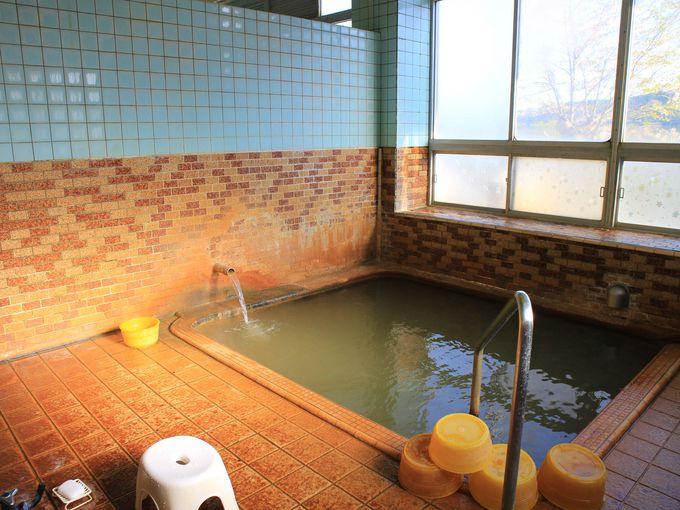 阿部旅館のお風呂のシステムと源泉