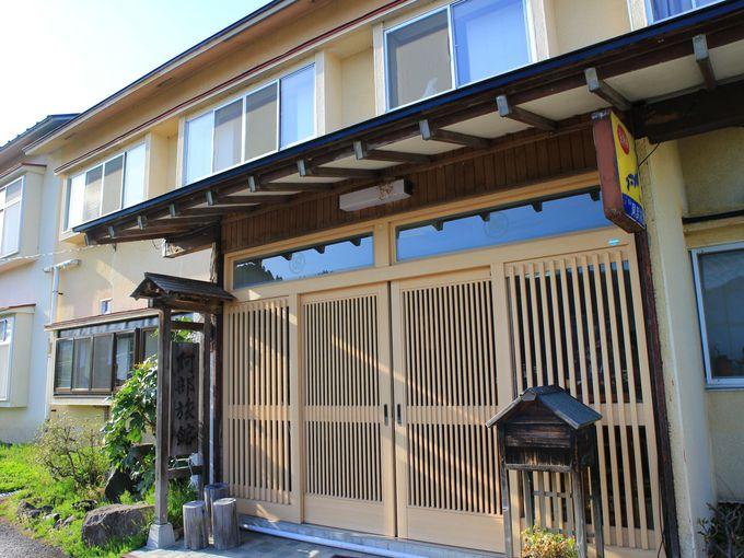 阿部旅館は東鳴子温泉の一角に