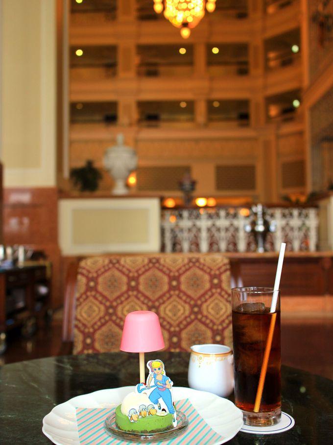 ディズニーホテルのスイーツにもトイ・ストーリー4のキャラが