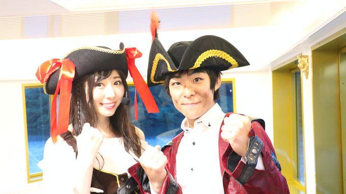 臨場感たっぷりの海賊ショーを箱根の海賊船で