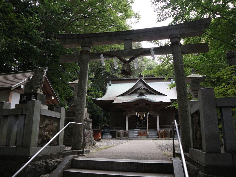 泉神社と天速玉姫命の伝説